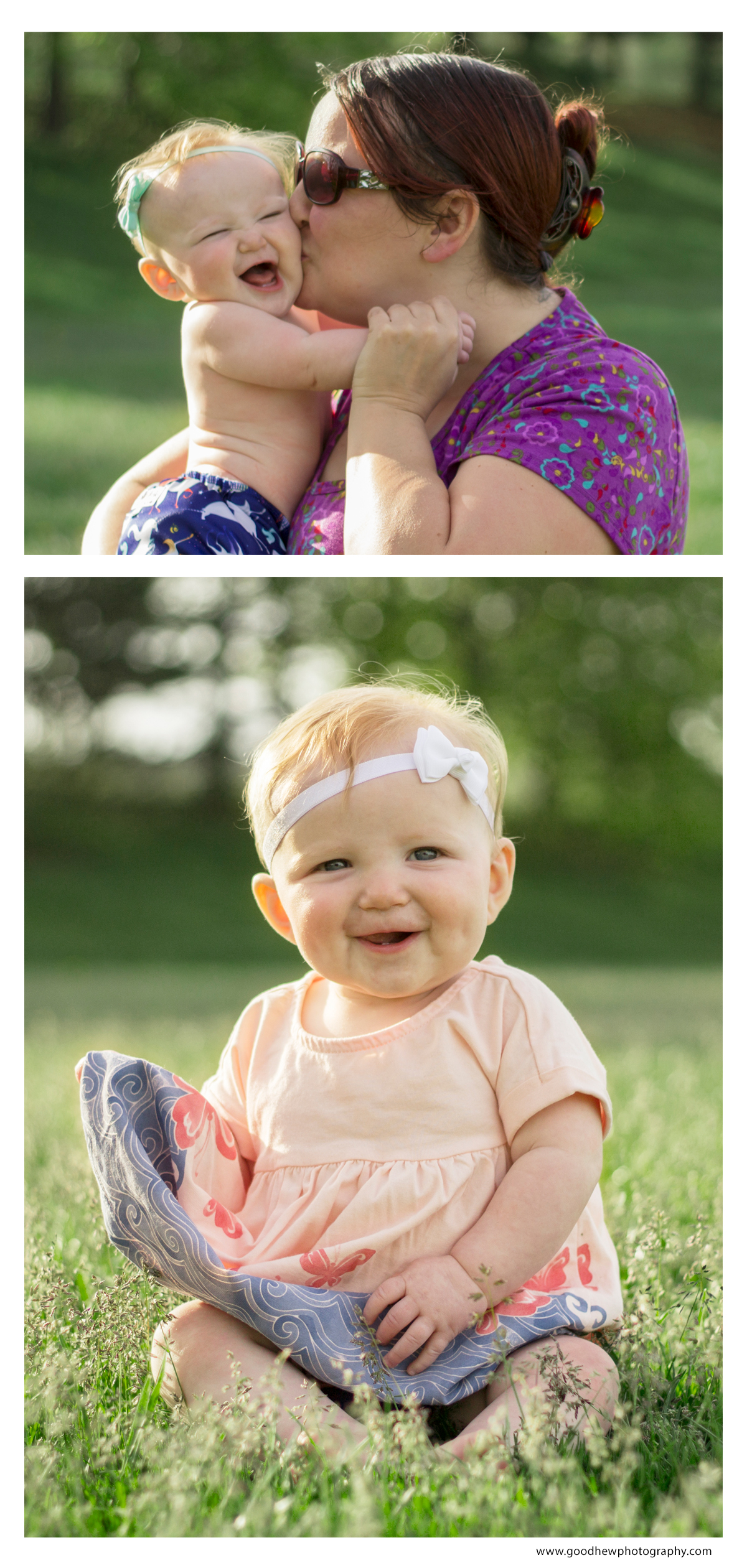 Jackson, Michigan - Half way through baby's first year photography plan at 6 months