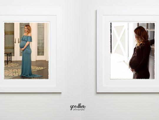 Jackson, Michigan Maternity Portraits - framed maternity portraits